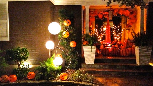 Halloween Home Lights