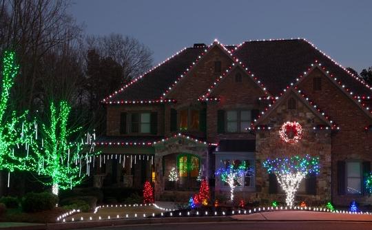East County San Diego Home Christmas Lights