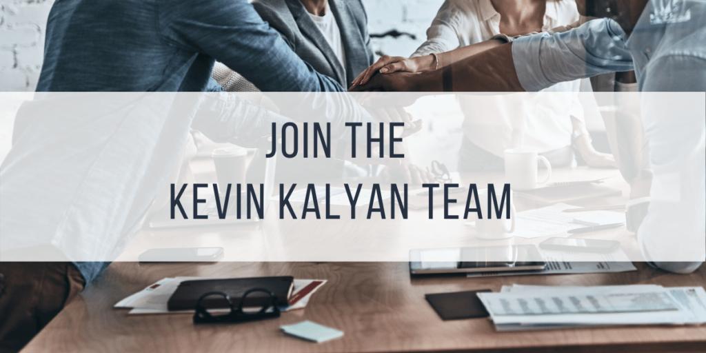Image Join the Kevin Kalyan Team