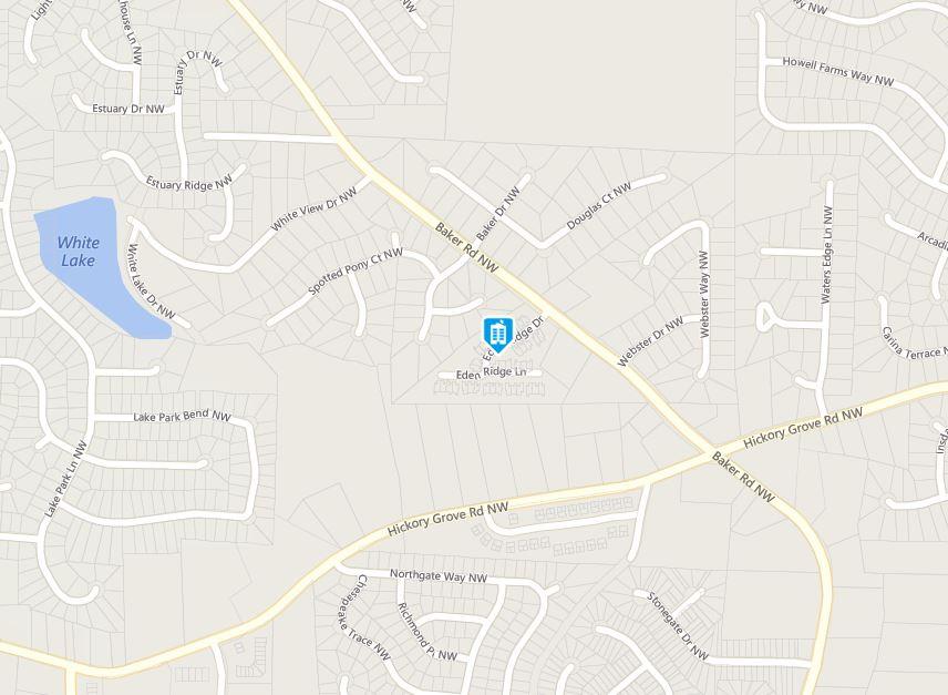Acworth Map Madison Place Location