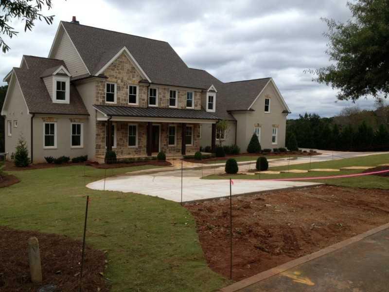 The Hayfield Milton GA Homes