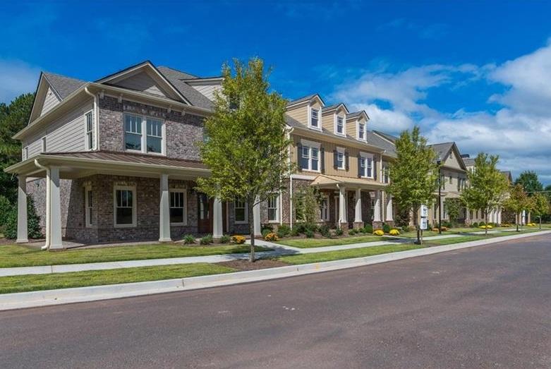 Parkside at Silos Milton GA Townhome Real Estate