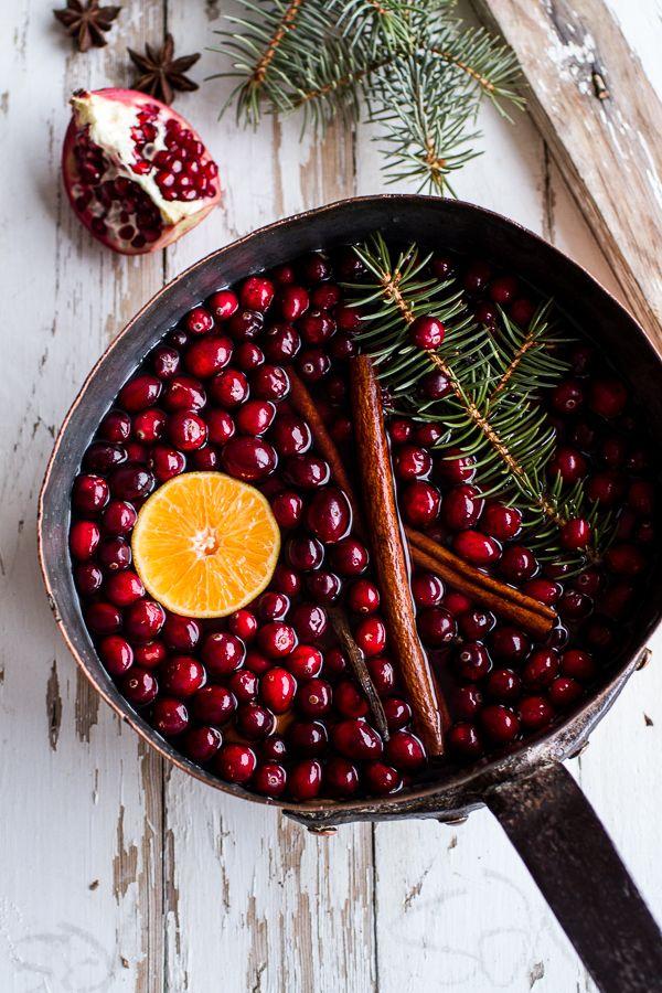 christmas stove scent