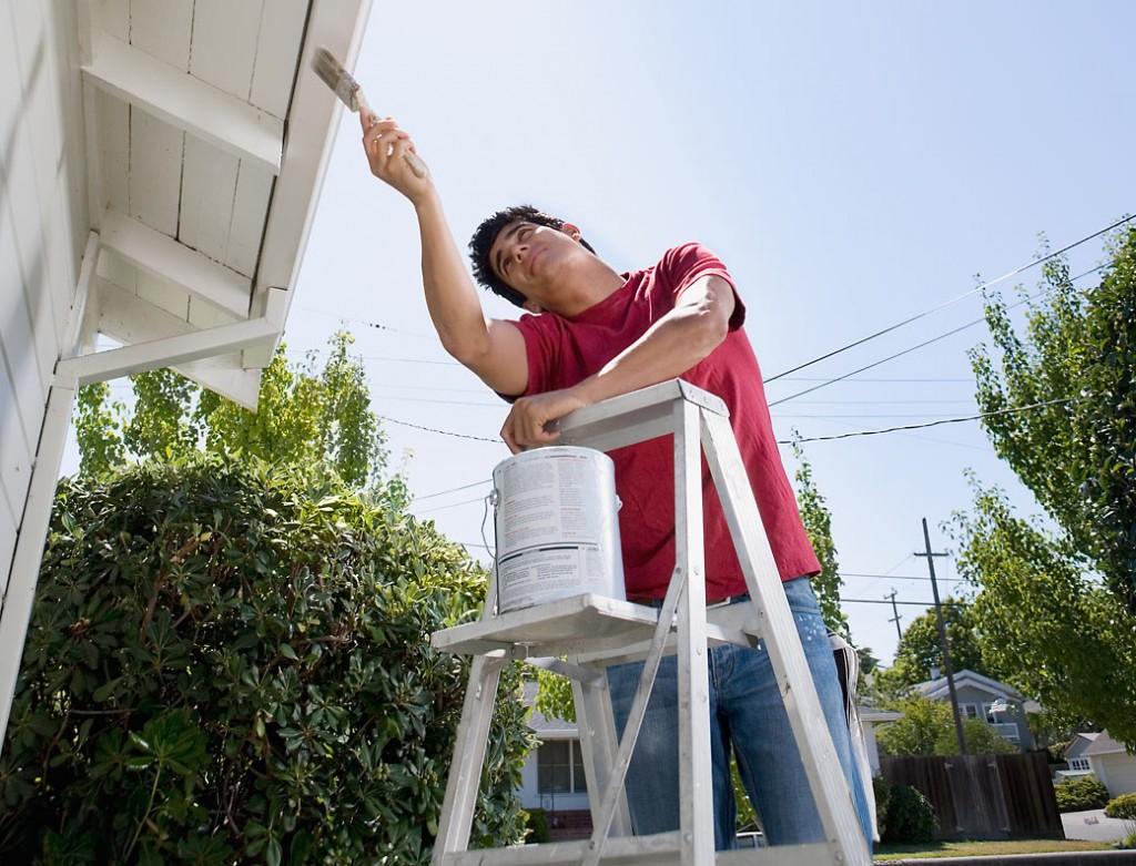 paint house exterior