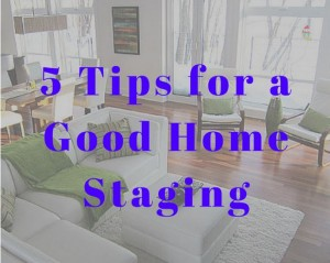 Tips For Home Staging