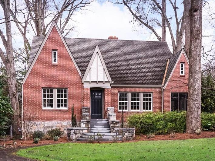 newest listings in atlanta tudor style decatur exterior