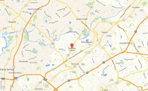 Peachtree Corners City In North Atlanta GA