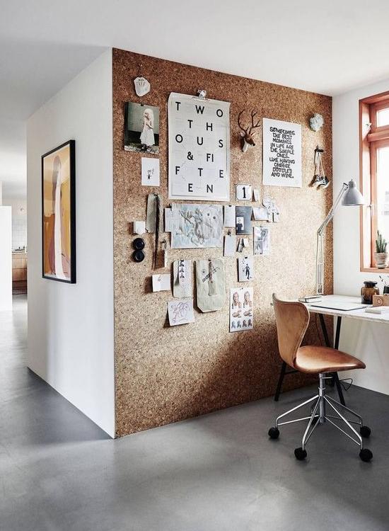 office pinboard. Pinboard Office