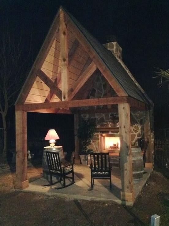 little house fireplace