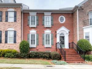 Academy Park Townhome For Sale In Alpharetta