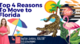 Top 4 Reasons To Move To Florida