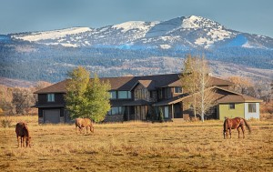 Luxury home in Victor, ID