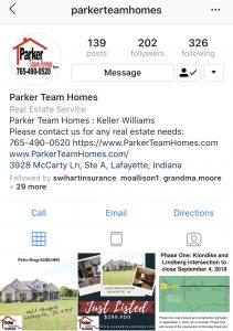 Parker Team Homes Instagram