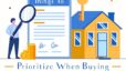 Things to Prioitize When Buying Your First Home | Infographic