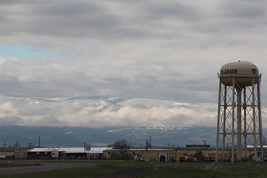 Views near Belgrade Montana!