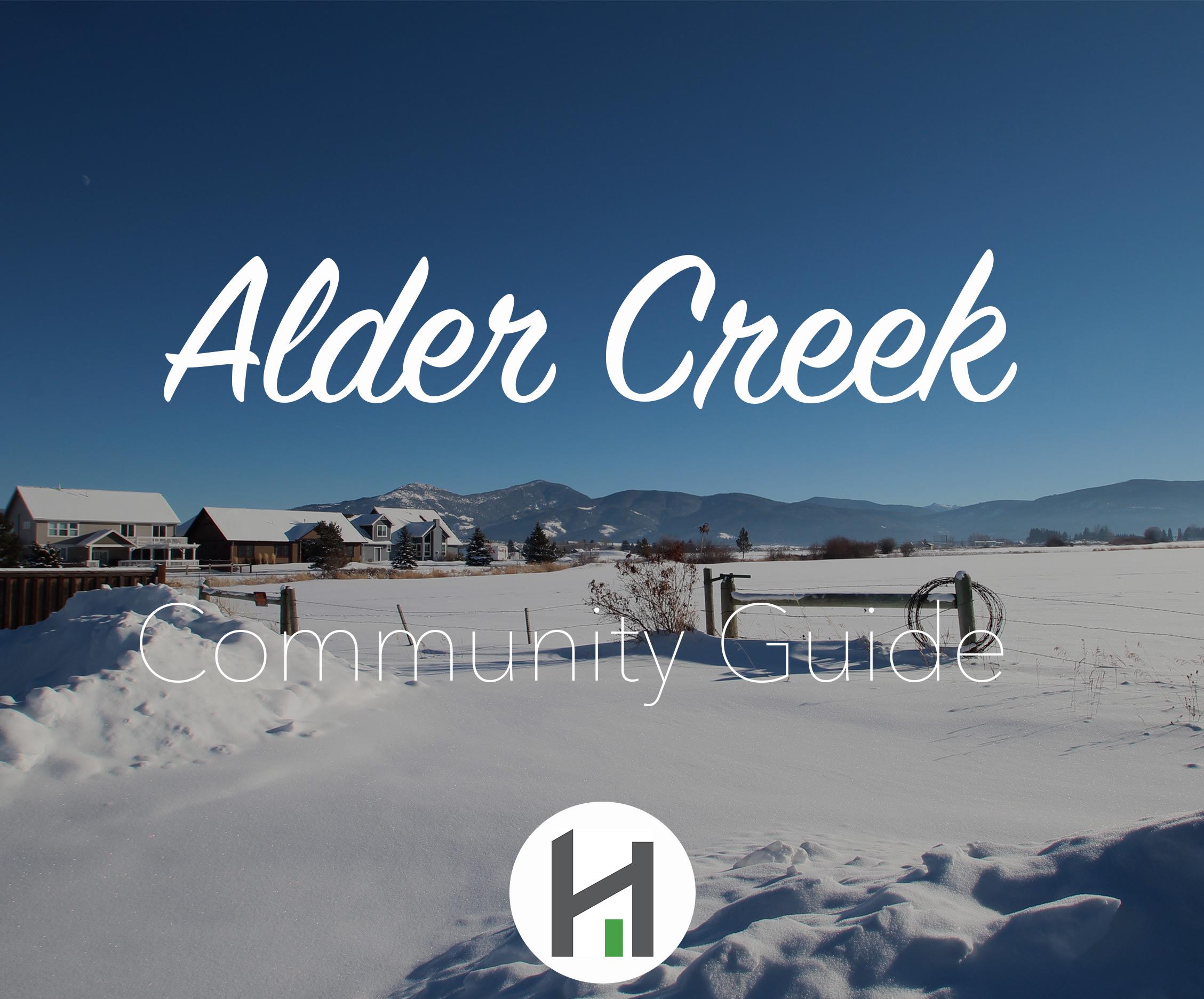 Explore Alder Creek Subdivision in Bozeman MT