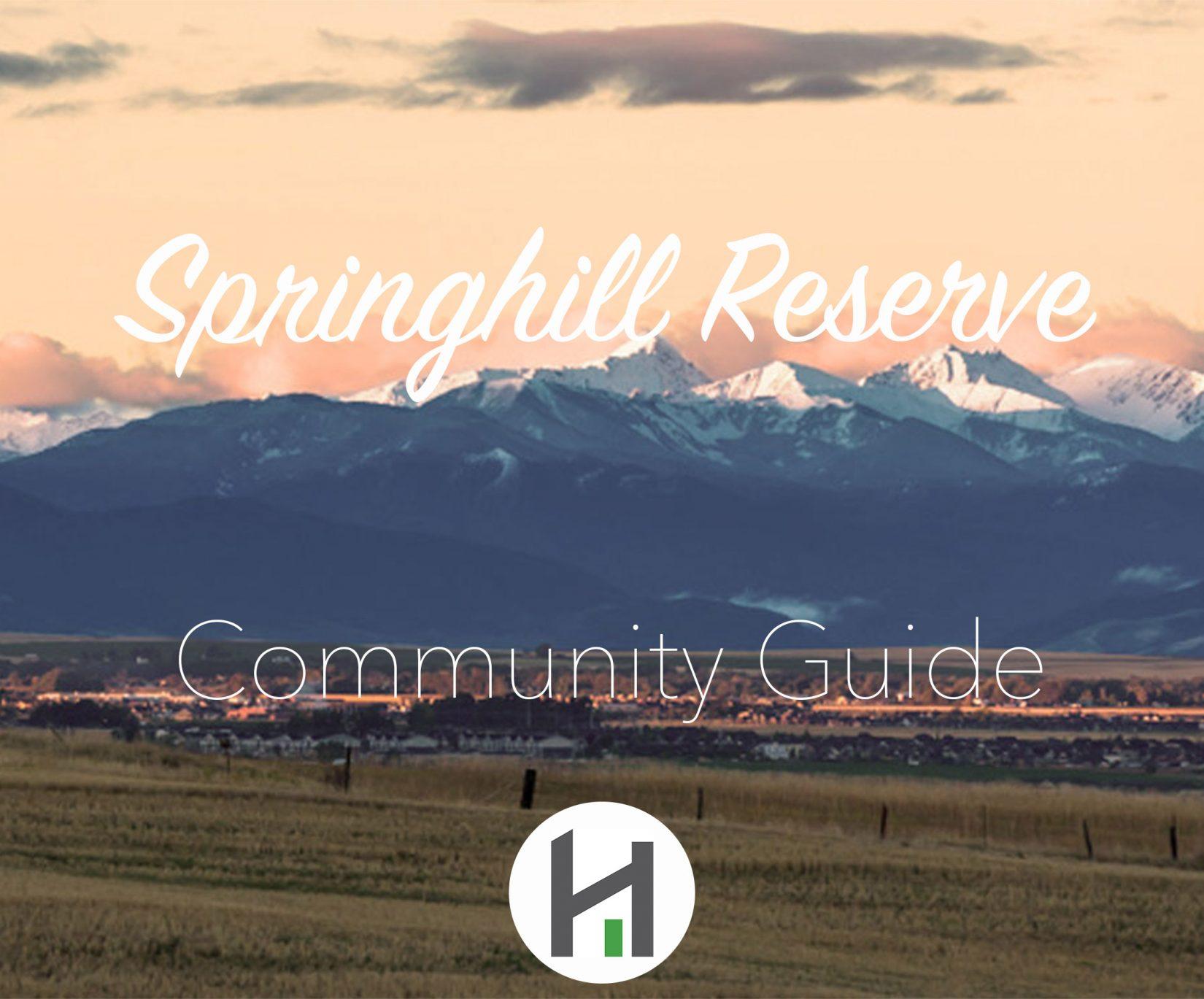 Springhill Reserve Real Estate in Bozeman MT