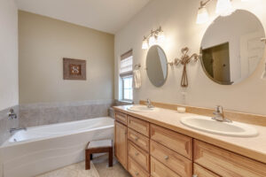 Master Bathroom 250 milestone drive landmark subdivision belgrade mt