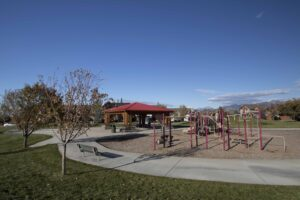 Playground Flanders Mill Subdivision in Bozeman MT