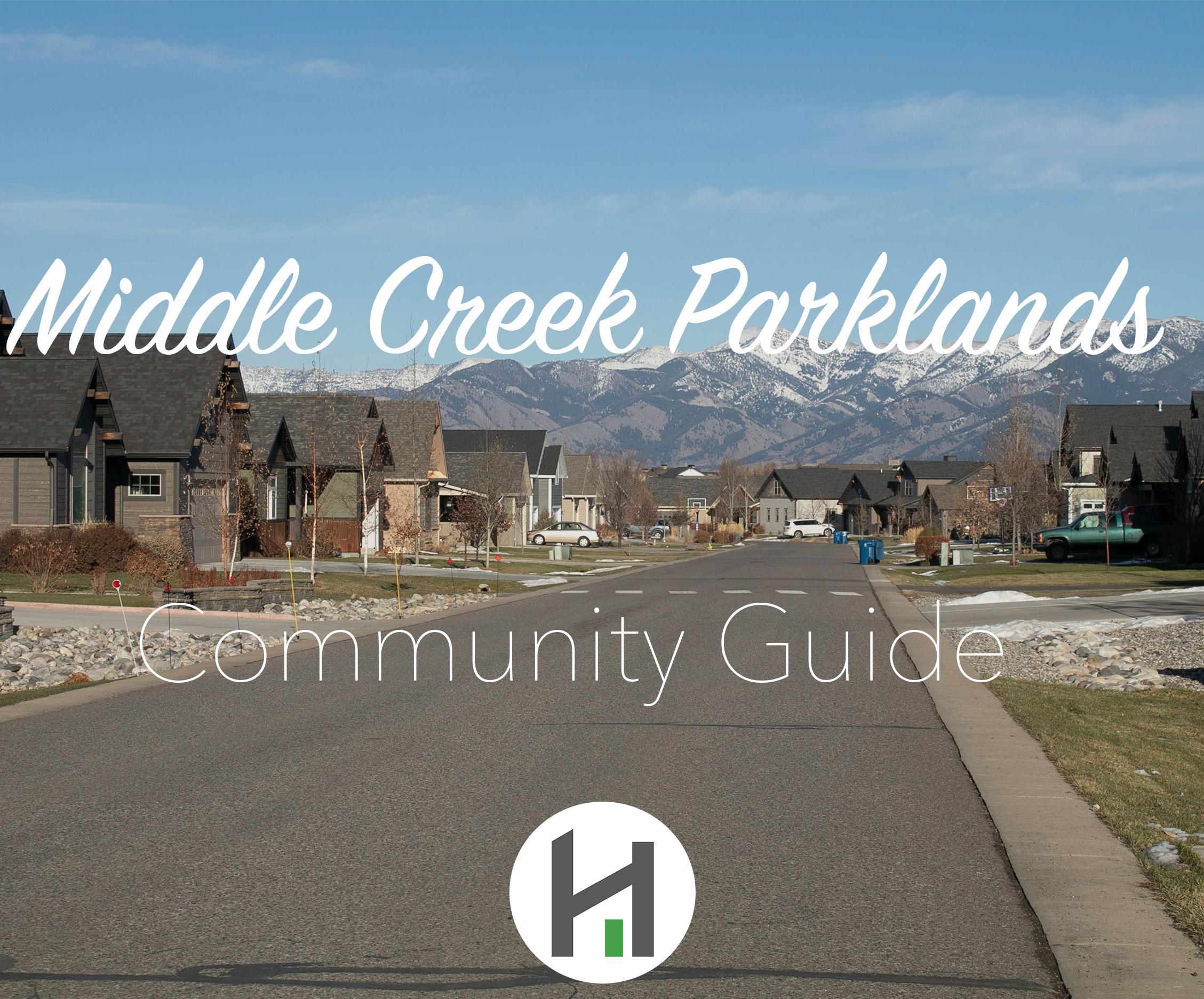 Explore Middle Creek Parklands Subdivision in Bozeman MT