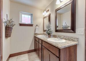 Master Bath 1122 Bur Avenue in Oak Springs Subdivision in Bozeman!