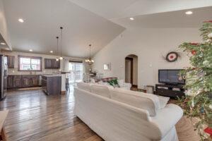 Living Room 1122 Bur Avenue in Oak Springs Subdivision in Bozeman!