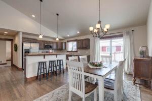 Dining Area 1122 Bur Avenue in Oak Springs Subdivision in Bozeman!