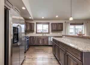 Kitchen 1122 Bur Avenue in Oak Springs Subdivision in Bozeman!