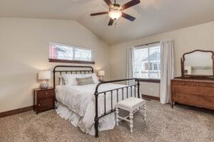 Master Bed 1122 Bur Avenue in Oak Springs Subdivision in Bozeman!