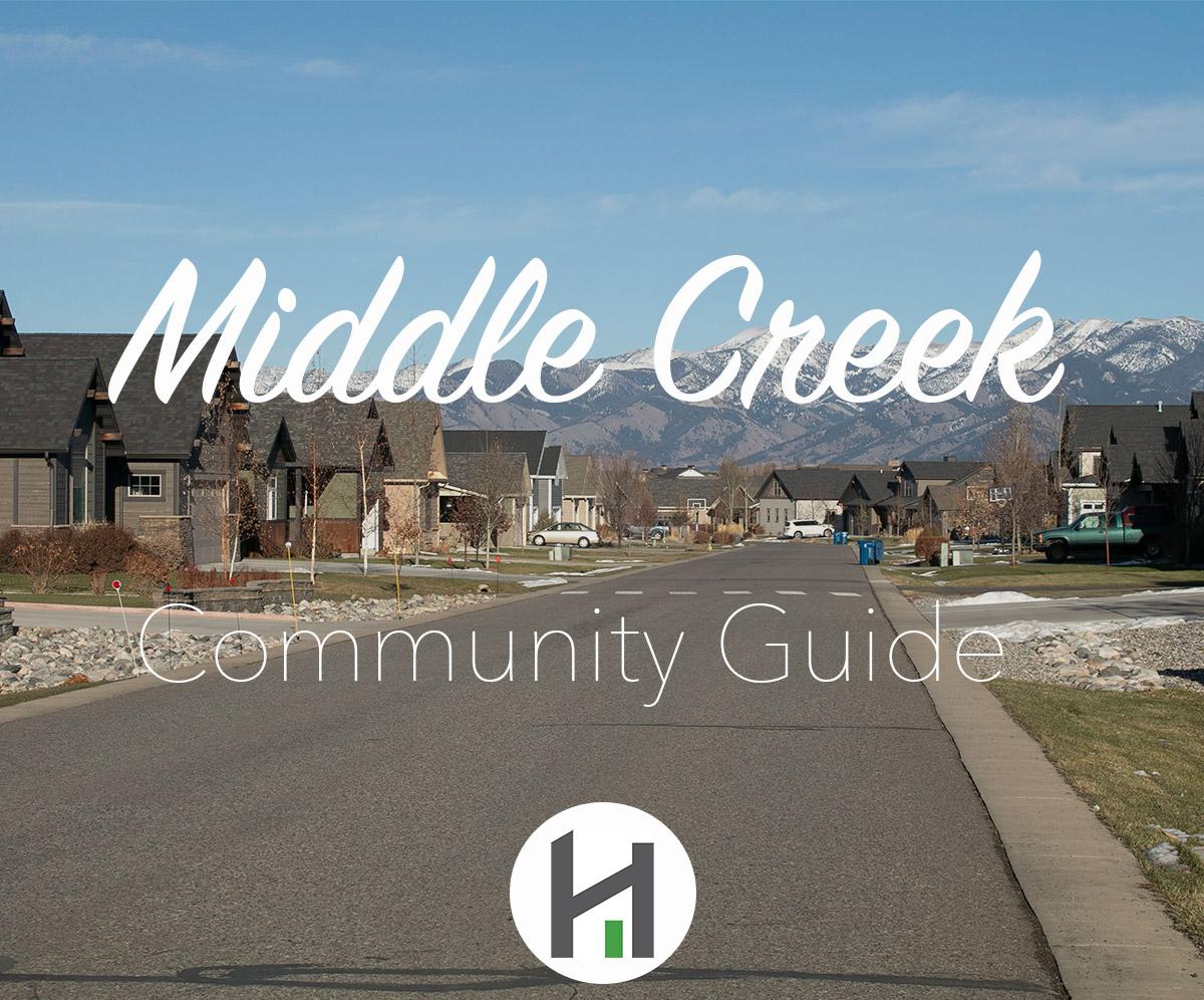 Explore Middle Creek Subdivision in Bozeman MT