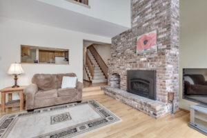1619 S. Black Street Fireplace