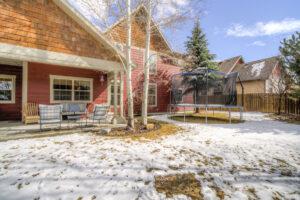 Backyard 1133 Springbrook in Bozeman MT 59718!