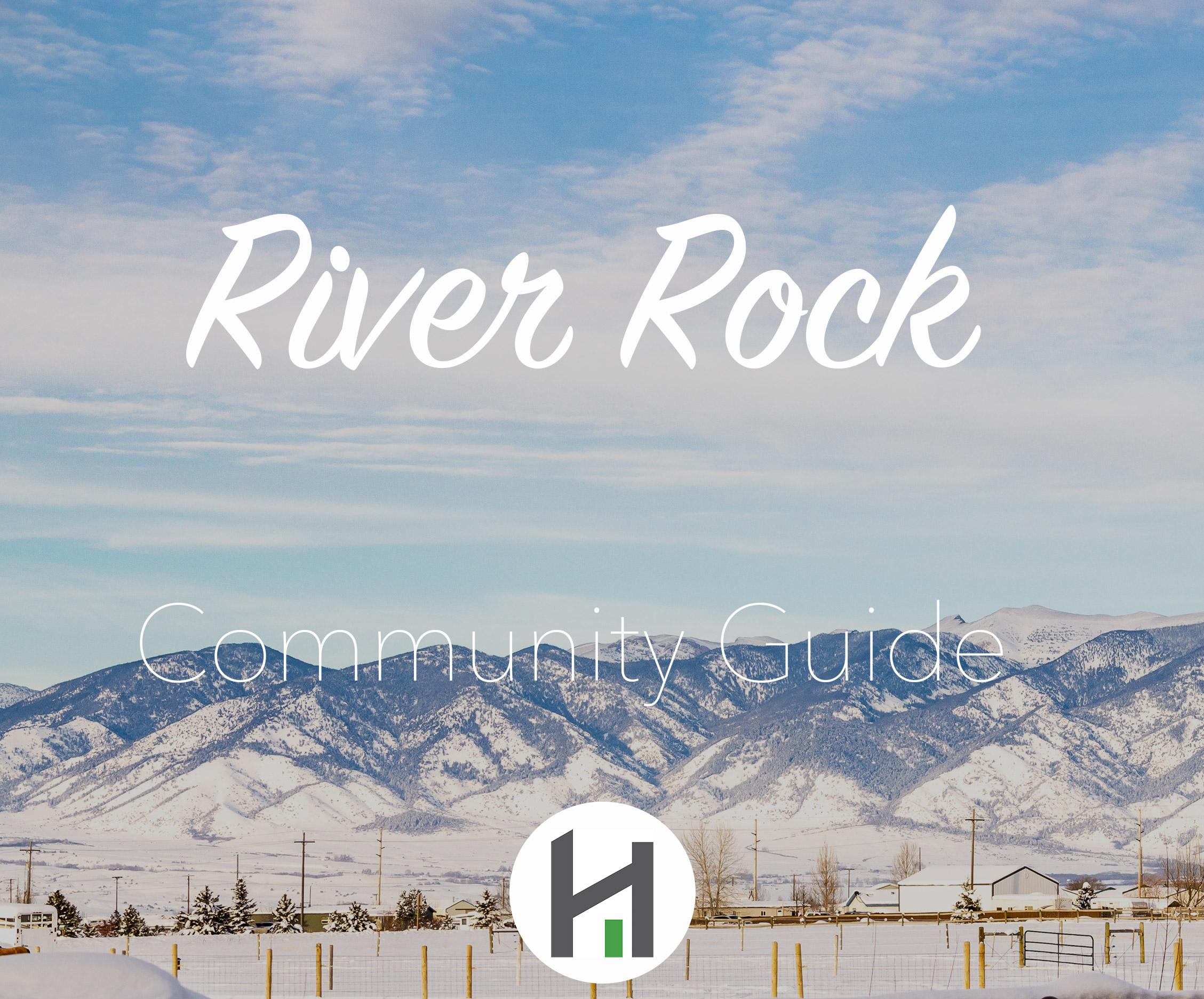 Find River Rock Homes and Real Estate in Belgrade MT