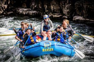 River rafting can be great fun!
