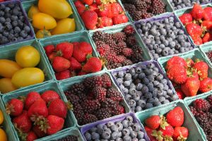 Farmer's Market have great locally grown food
