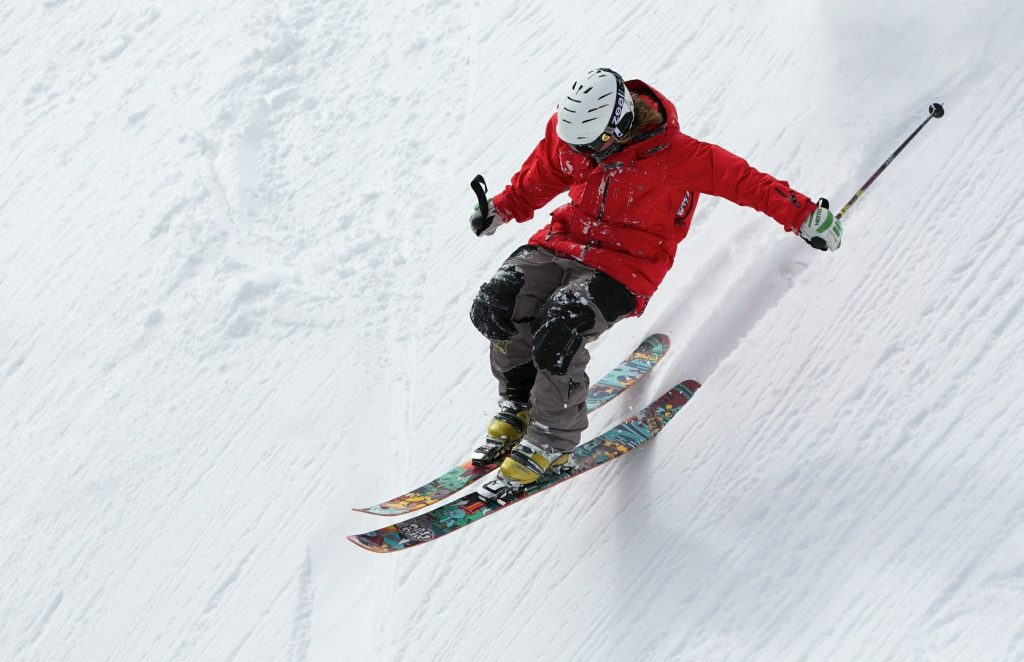 There is lots of downhill skiing in Idaho, especially in Couer d'Alene
