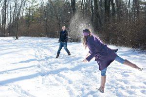 Having fun in the snow is easy in Idaho