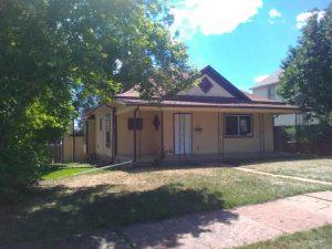Front of house in Trinidad Colorado