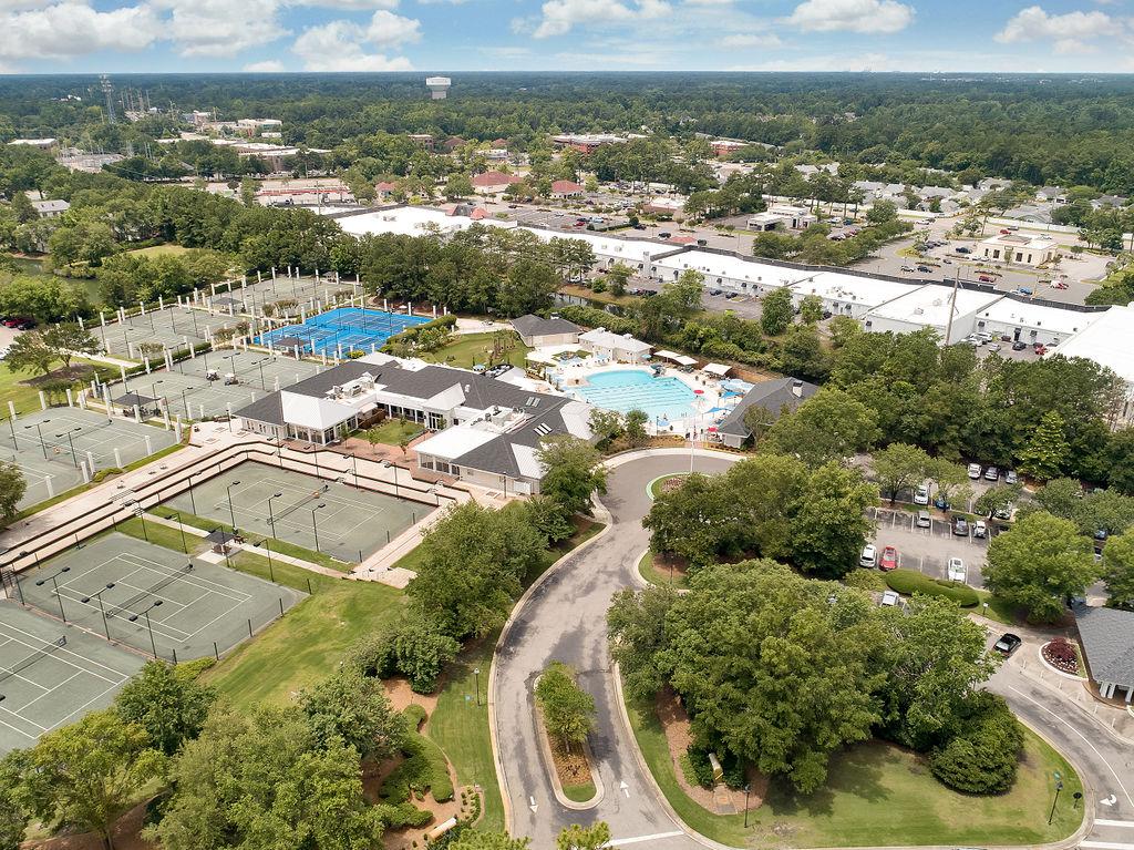 aerial view of landfall amenities