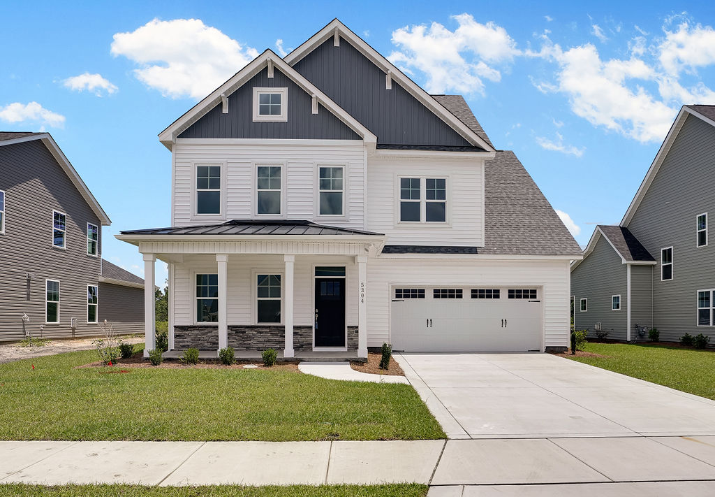 New home from Hardison Building at Fortune Place