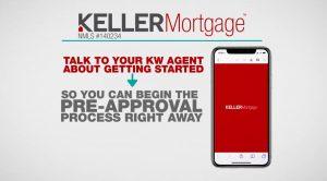 Keller Mortgage on the KW App
