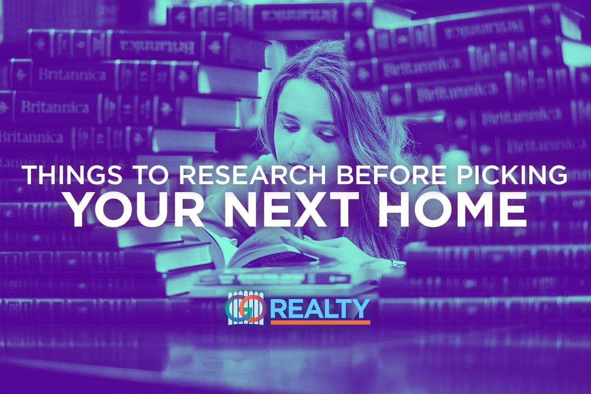 Things to Research Before Picking Your Next Home