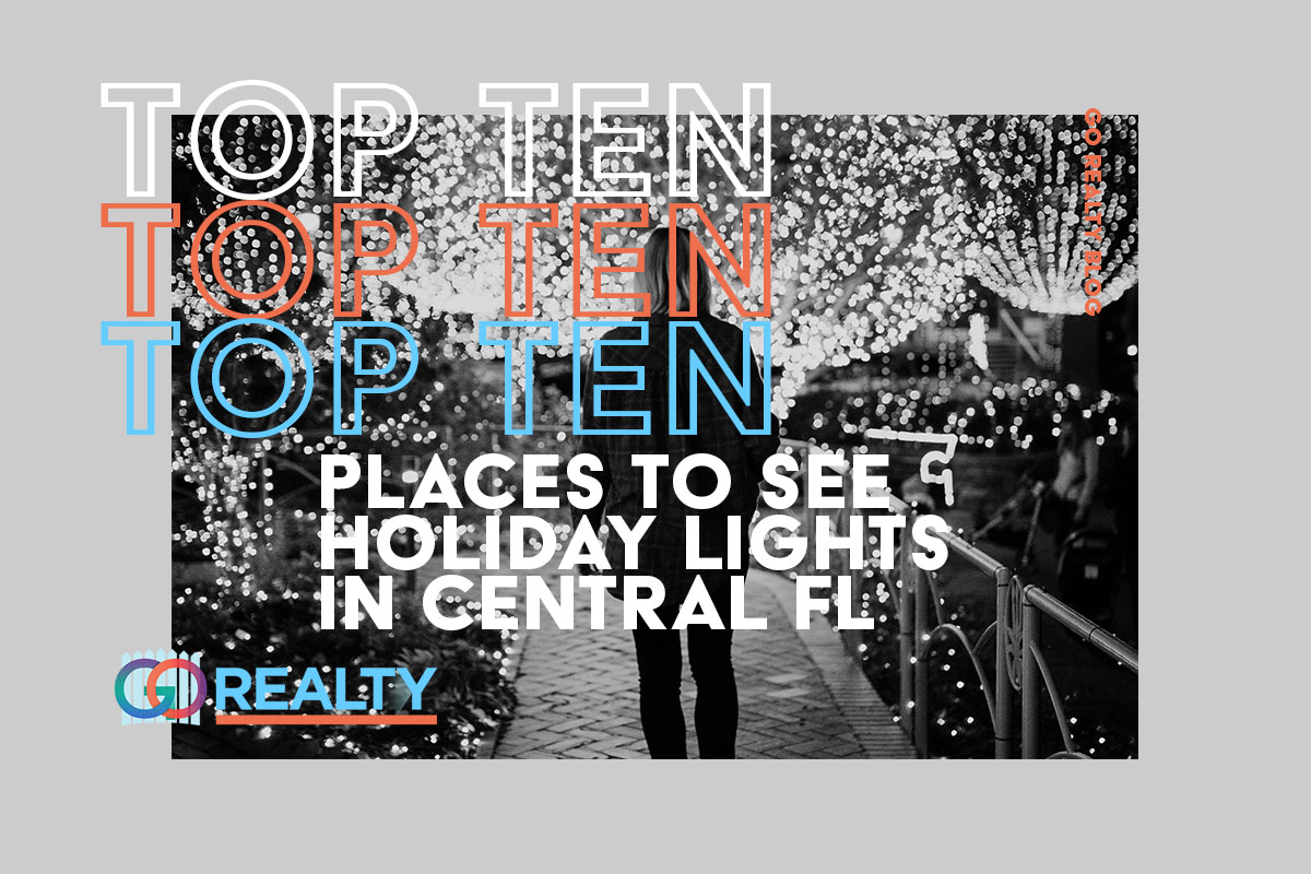 Top Ten Places to see Holiday Lights in Central Florida