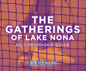 Gatherings of Lake Nona Neighborhood Guide and Home Search
