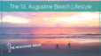 The St. Augustine Beach Lifestyle