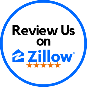 This image has an empty alt attribute; its file name is Review-Us-Zillow-Stars.png