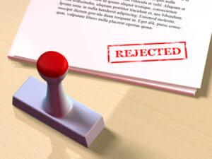 Rejected offer