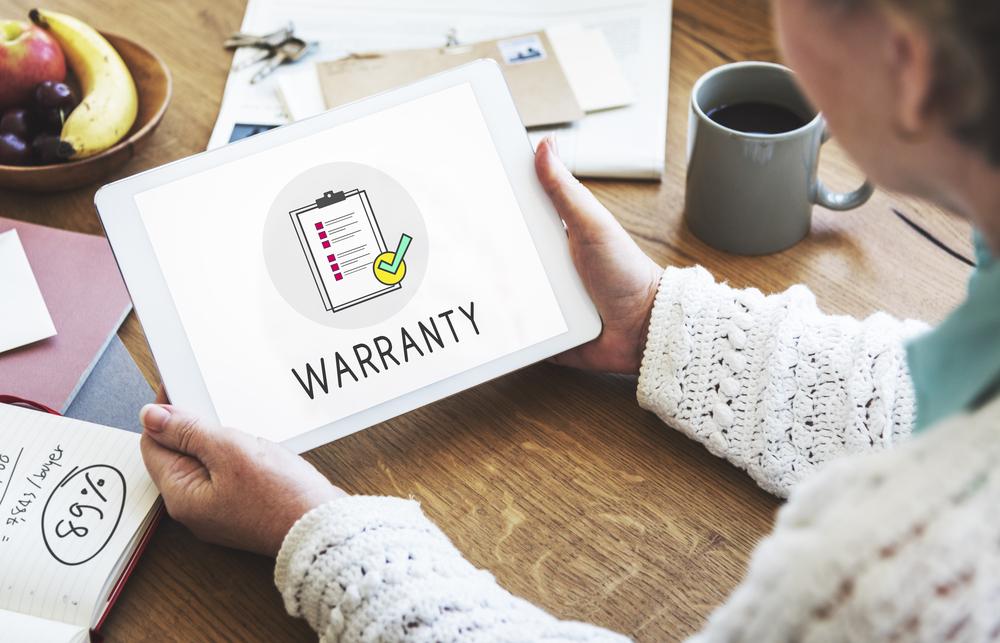 Warranty on an Ipad
