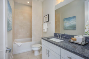 Luxurious bathroom amenities!
