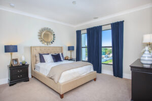 A beautiful and spacious Master Bedroom